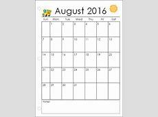 starfall calendar July 2016