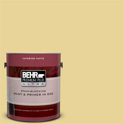 behr premium plus ultra 1 gal 390d 4 honey beige matte