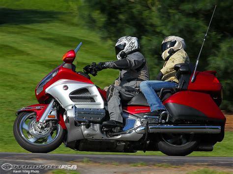 Review Honda Goldwing by 2012 Honda Goldwing Touring Review Photos Motorcycle Usa