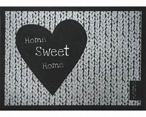 Schmutzfangmatte Meterware Hornbach : schmutzfangmatte home sweet home grau 50x70 cm bei hornbach kaufen ~ Eleganceandgraceweddings.com Haus und Dekorationen