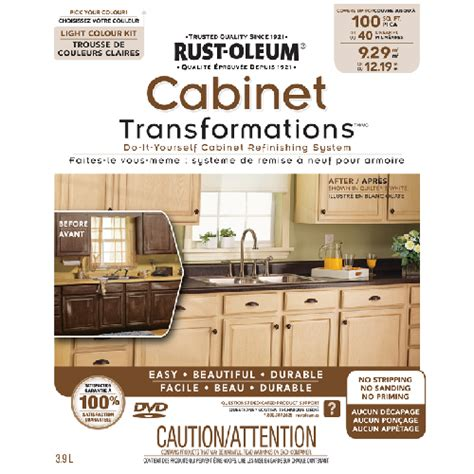 Rustoleum Cabinet Refinishing Home Depot by Rust Oleum Cabinet Refinishing System R 233 No D 233 P 244 T