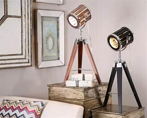 Objet Deco Cinema : objet design tendance la lampe projecteur cin ma ~ Melissatoandfro.com Idées de Décoration