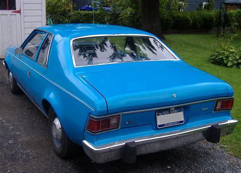 File:1975 AMC Hornet Two Door Sedan Rear.jpg - Wikimedia ...