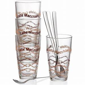 Latte Macchiato Gläser Set : ritzenhoff breker 124200 latte macchiato gl ser set 8 teilig mit l ffel ebay ~ Eleganceandgraceweddings.com Haus und Dekorationen