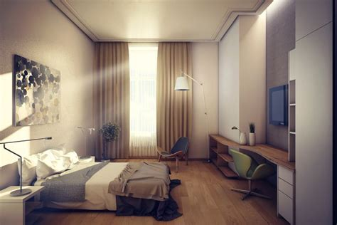 Room Interior by Hotel Room Interior Design 3d Modelling Rendering And