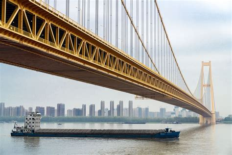 Double Deck Suspension Bridge With Longest Span In The