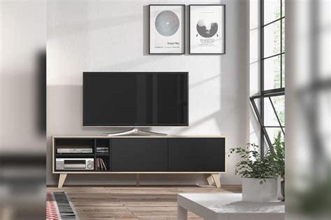 mueble de salon comedor zaiken en color roble natural