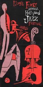 Hollywood Jazz Festival poster by David Stone Martin ...
