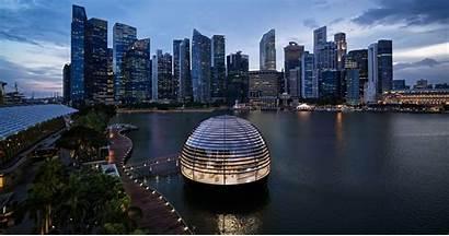 Marina Sands Bay Apple Opening Singapore Thursday