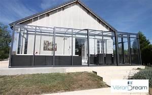 Abri De Terrasse Retractable : abri de terrasse v12 verandream abri pour terrasse ~ Dailycaller-alerts.com Idées de Décoration
