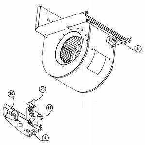 Blower Assy Diagram  U0026 Parts List For Model Pf1mnc019000