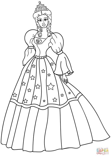 immagini da colorare principesse disegno di principessa da colorare disegni da colorare e