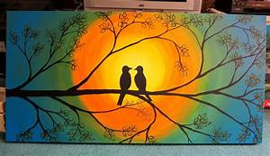 cool canvas painting ideas : Painting Canvas Ideas For ...