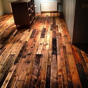 pallet flooring upcycling ideas to have a beautiful With wood flooring ides with hardwood floors
