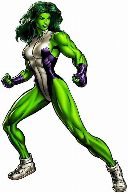 Hulk She Transparent Clipart Ross Cartoon Marvel