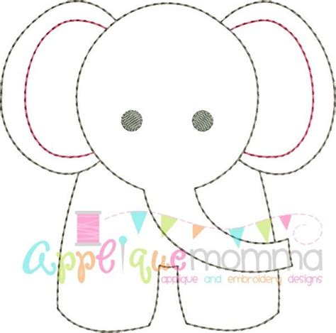 baby shower elephant template elephant vintage embroidery design n 228 hen f 252 r babys