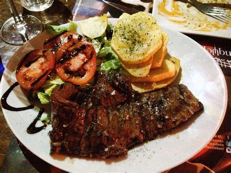 cuisine argentine argentinian food in cordoba spain la tranquera restaurante