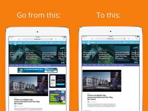ad blocker for iphone freedom ad blocker screenshot