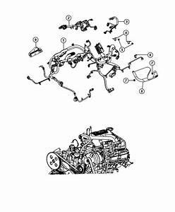 Jeep Wrangler Shield  Heat  Wiring  Engine