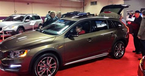 lehman volvo cars  pennsylvania auto show recap
