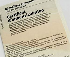 Aide Pour Remplir Certificat D Immatriculation : immatriculer un v hicule neuf ~ Gottalentnigeria.com Avis de Voitures