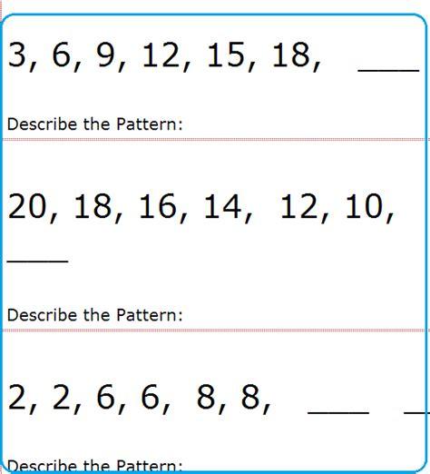 number sheet school activity