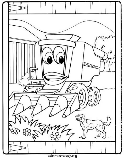 free coloring pages of john deere logo
