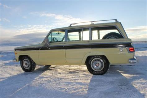 1970 jeep grand wagoneer purchase used 1970 jeep wagoneer gladiator 81k original