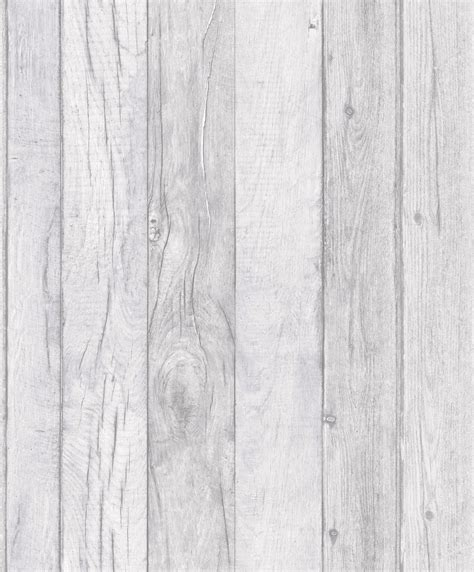 Tisch Holz Grau by Grandeco Ideco Home Wood Wallpaper A17402 Grey Cut