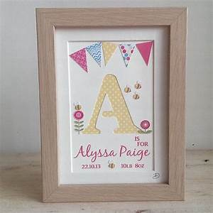 girls personalised name frame hand cut letter nursery With letter name frames