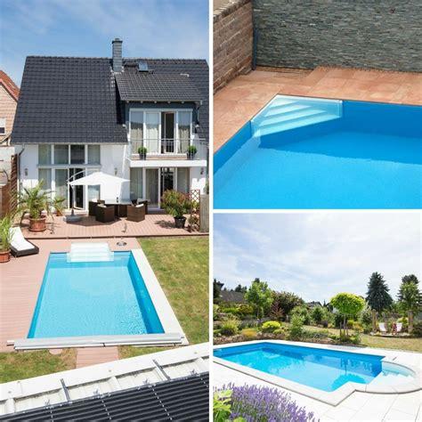 Whirlpool Garten Anschluss by Pooltreppe Zum Pool Selber Bauen Leichter Anschluss An