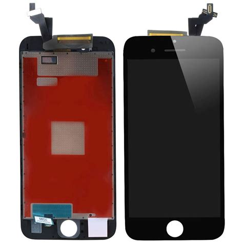 iphone 6 display display iphone 6s schermo lcd touch screen vetro nero