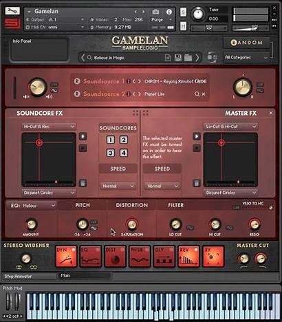 Gamelan Logic Interface Sample Kontakt Check Player