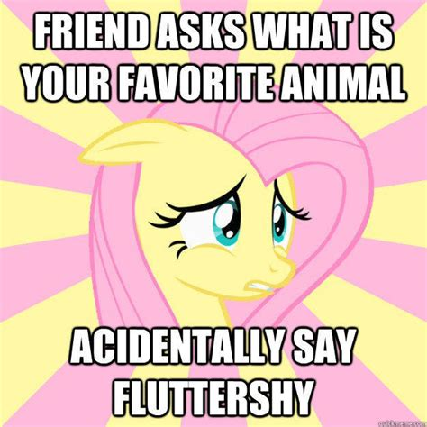Mlp Fluttershy Meme - socially awkward brony my little pony friendship is magic know your meme