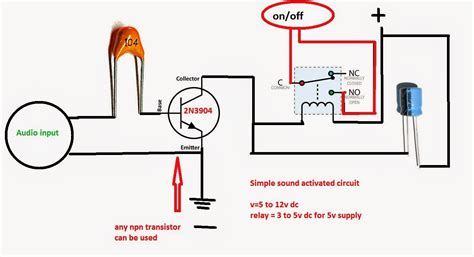 Ksf Electronics Sound Activated Switch Circuit Off