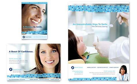dentistry dental office flyer ad template word