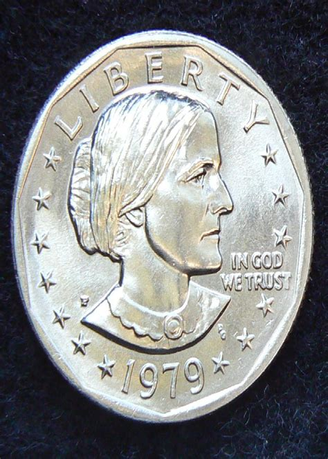 1979 susan b anthony dollar 1979 p susan b anthony dollar for sale buy now online item 89341