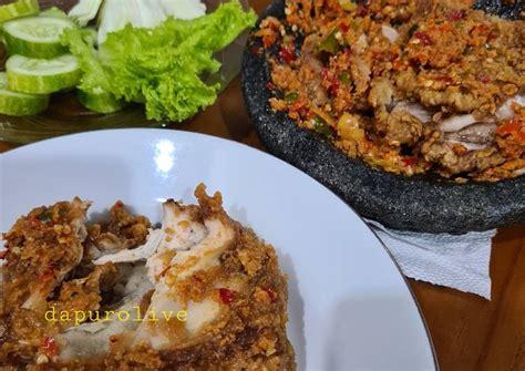 Последние твиты от ayam gepuk pak gembus official (@gepukpak). Resep Sambal Ayam Geprek ala Pak Gembus oleh Dapur Olive ...