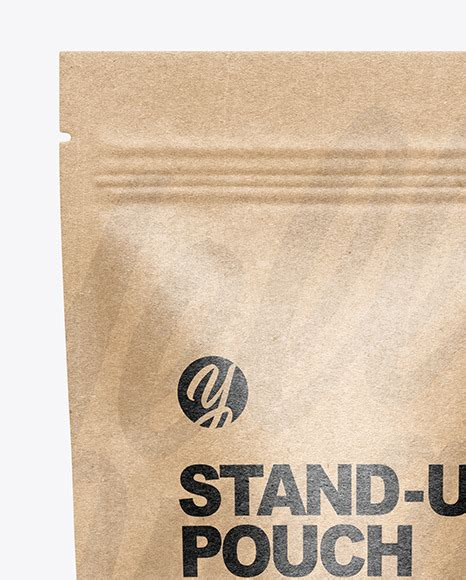 You can create a free account now. Kraft Paper Stand-up Pouch Mockup in Pouch Mockups on ...