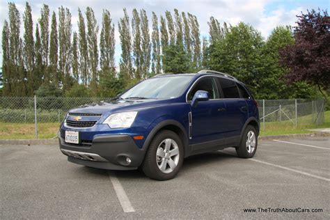 Rental Car Review 2012 Chevrolet Captiva Sport The