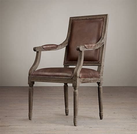 comfortable vintage chocolate leather dining chairs