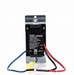 Smart Light Switch 1800 W  U2013 Zigbee