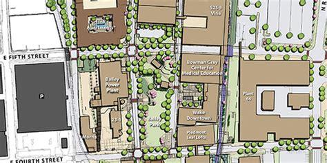 Wake Forest University Parking Map