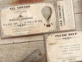 ticket wedding invitations printable vintage wedding invitations ticket by designedwithamore