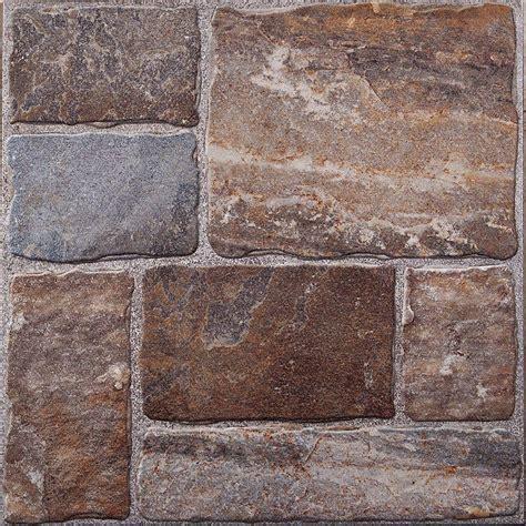 home depot brick tile cobblestone ii 20 in x 20 in ceramic floor tile 26 91