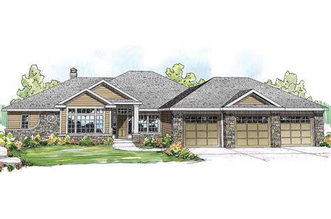 Ranch House Plans  Meadow Lake 30767  Associated Designs