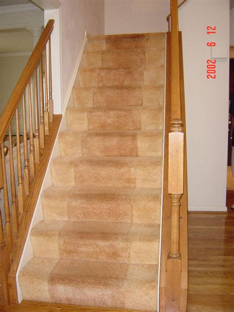 how to install carpet on stairs brown carpet stair ideas quecasita