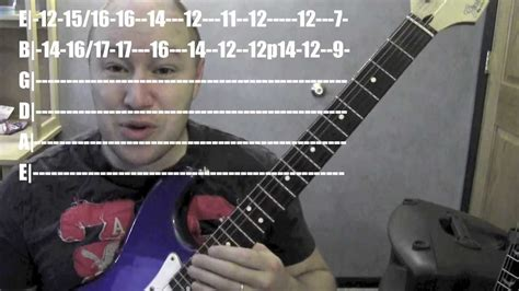 Slow Dancing In A Burning Room-guitar Lesson / Tutorial