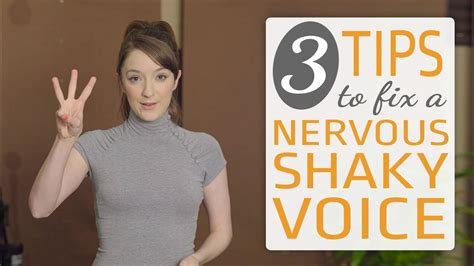 3 ways to fix a nervous singing voice sing with confidence youtube