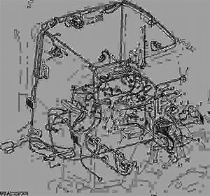 Wiring Harness  Cab  Aqt  North American Version  - Tractor John Deere 7810 - Tractor